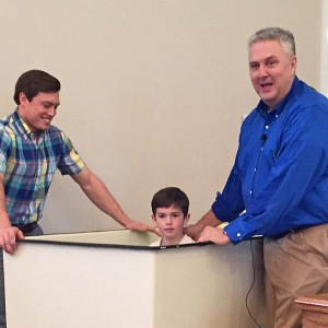Blake Bitner gave his heart to the Lord and wanted to be baptized at the age of 6.
