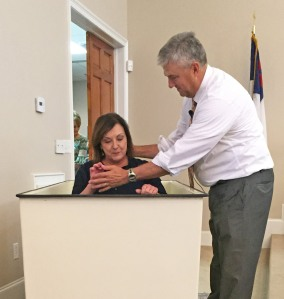 Beth Scarbrough shares Her Confession of Faith in Baptism